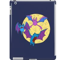 Zubat, Golbat, and Crobat iPad Case/Skin
