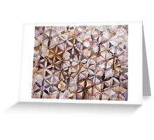 Untitled (Sacred Geometry) Greeting Card