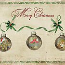 Christmas Baubles by Maria Dryfhout