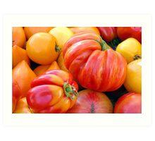 Tomatoes, Tomahtos! Art Print