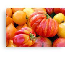 Tomatoes, Tomahtos! Canvas Print