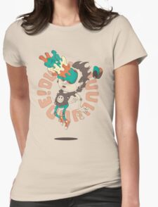 Acid Eyes Womens Fitted T-Shirt