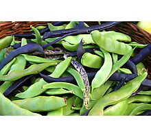 Oh Beans Photographic Print