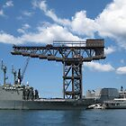Woolloomooloo Crane by John Douglas