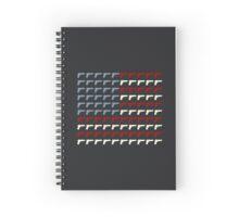 Second Amendment Flag Spiral Notebook