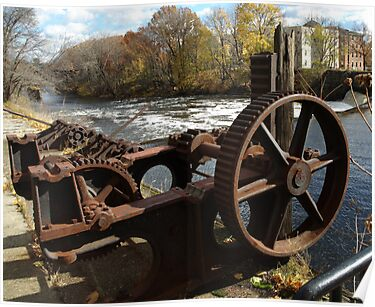 Water Wheel by Barry Doherty