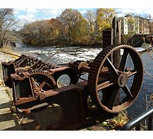 Water Wheel Photographic Print