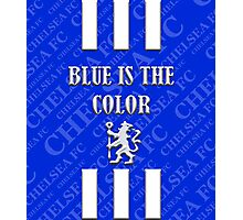 blue is the color Photographic Print