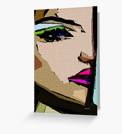 Female Expressions 711 Greeting Card