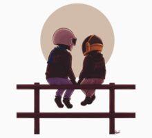 Daft Punk & Sunset by MaliceZz