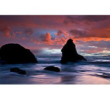 Stormy Pacific Photographic Print