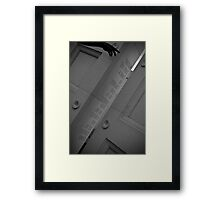 The Eleventh Hour On The Eleventh Day Of The Eleventh Month Framed Print