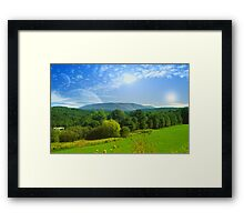 Earth II Framed Print