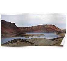 Flaming Gorge Utah Poster