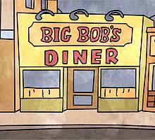 Big Bob's Diner by bookishkate