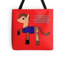 Nathan pony fillion Tote Bag