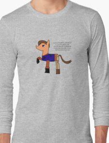 Nathan pony fillion Long Sleeve T-Shirt