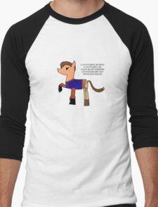 Nathan pony fillion Men's Baseball ¾ T-Shirt