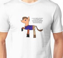 Nathan pony fillion Unisex T-Shirt