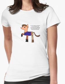 Nathan pony fillion Womens Fitted T-Shirt