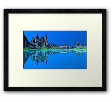 Blue Sea....Blue Sky Framed Print