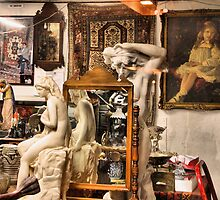 Crowed in an Antique Shop by Amy E. McCormick