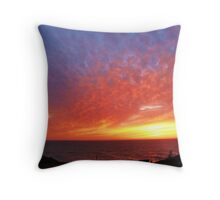 Brilliance at Newport, Oregon Throw Pillow