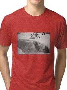 Cloud bicycle Tri-blend T-Shirt