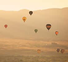 Albuquerque Hot Air Balloon Fiesta by doorfrontphotos
