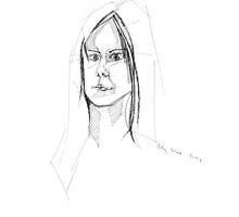 self portrait by Liz Watt