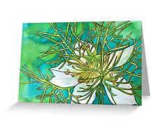 Barbara's Garden V Greeting Card