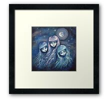 Sisters of the Moon Framed Print