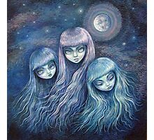 Sisters of the Moon Photographic Print