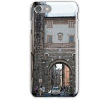 Streets of Lucca iPhone Case/Skin