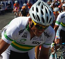 Simon Gerrans by Steven Weeks