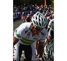 Simon Gerrans Photographic Print