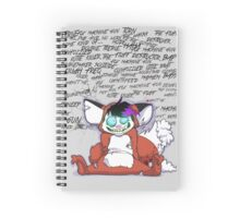 Troublemaker Junglist Spiral Notebook