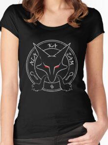 Alakazam Invocation Women's Fitted Scoop T-Shirt