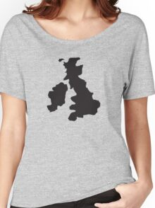 The United Kingdom and Ireland Women's Relaxed Fit T-Shirt