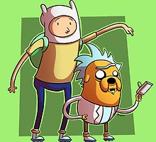Rick and Morty Time by saultoons