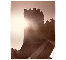 Castle in the Sun - Napa Valley, California Poster