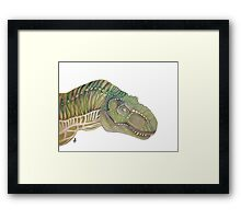 Jurassic world trex t-rex Framed Print