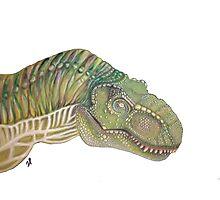 Jurassic world trex t-rex Photographic Print