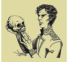 Alas, poor Yorick! Photographic Print