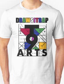 """DRAWSITRAP""The Message by tweek9arts - Black/White Colorway Unisex T-Shirt"