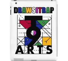 """DRAWSITRAP""The Message by tweek9arts - Black/White Colorway iPad Case/Skin"