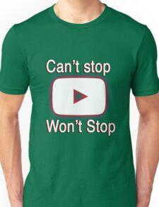 Youtube Love shirt Unisex T-Shirt