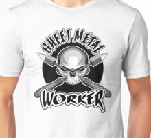 Sheet Metal Worker Skull Unisex T-Shirt