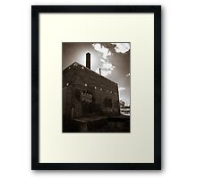 For love of old buildings Framed Print