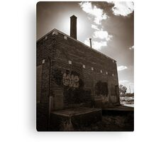 For love of old buildings Canvas Print